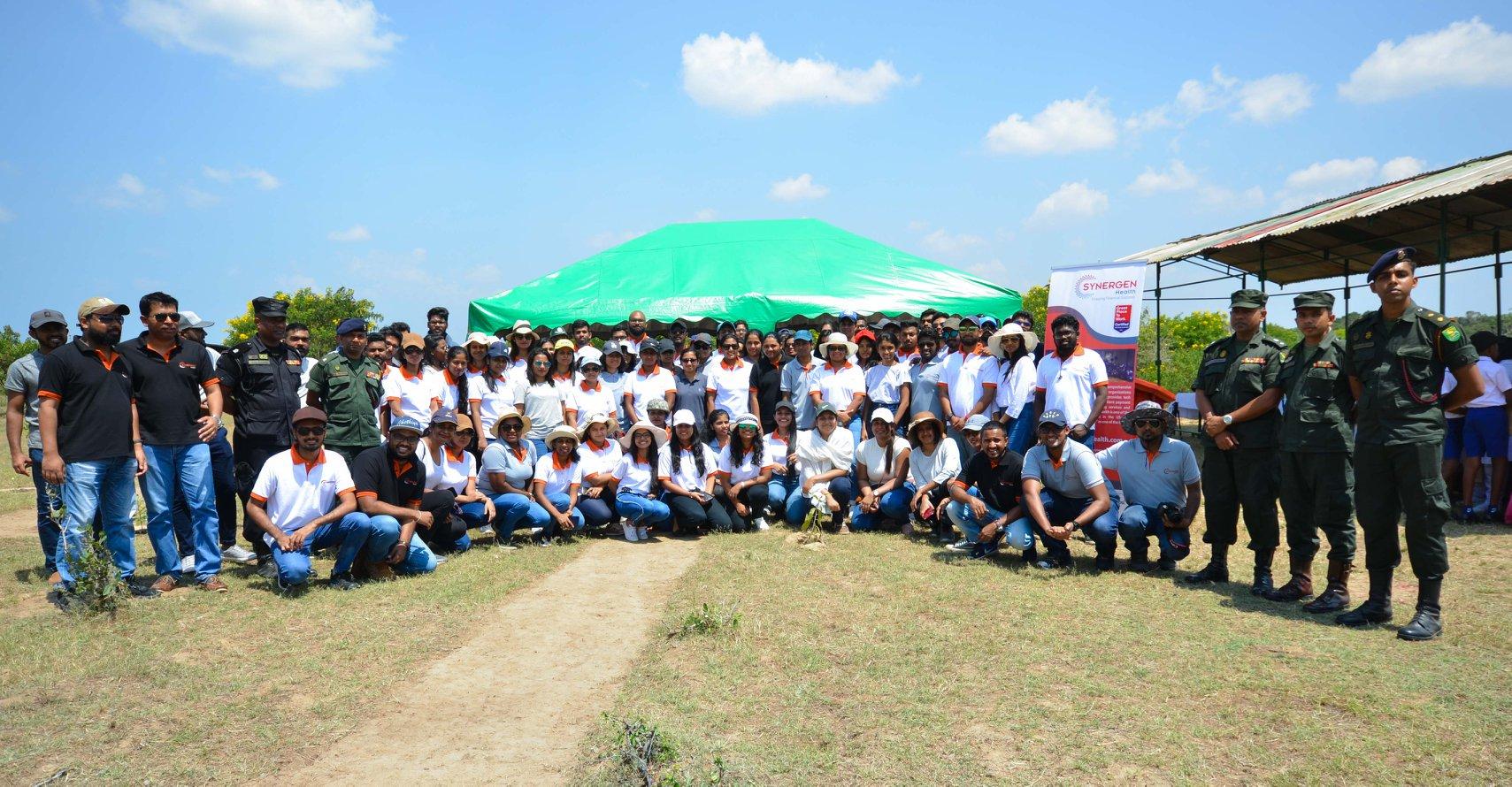 SYNERGEN Health - Earth Day Team