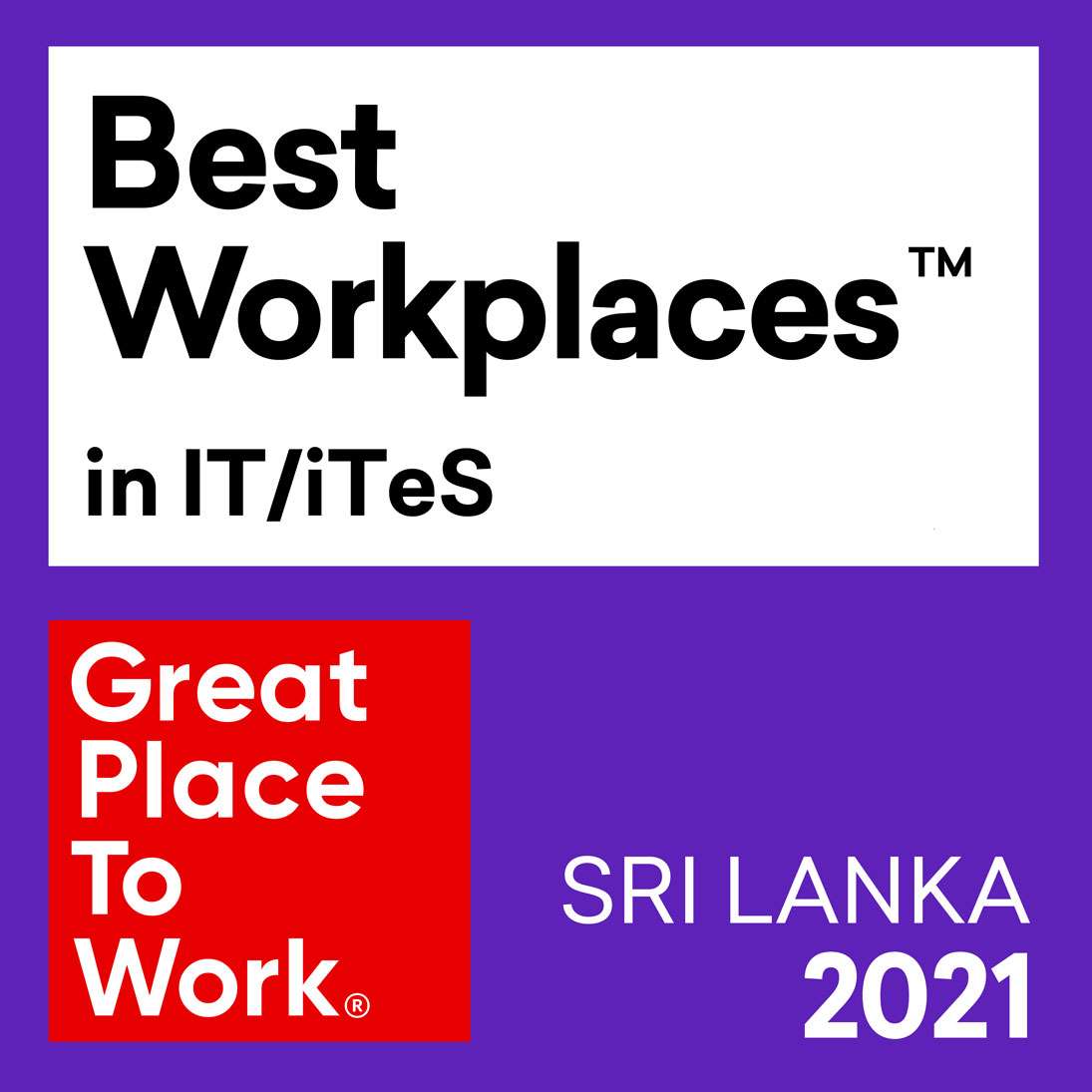 SYNGERGEN Health ranked as a top 10 Best Small and Medium IT/ITES Workplace logo