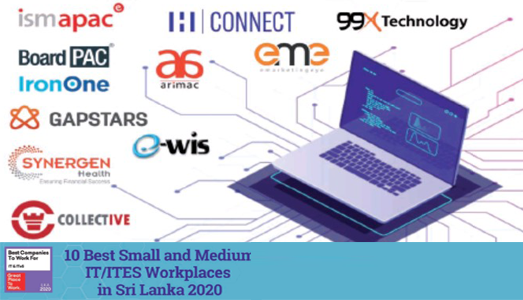 news article introduction image on Best Small and Medium IT/ITES Workplaces in Sri Lanka 2020